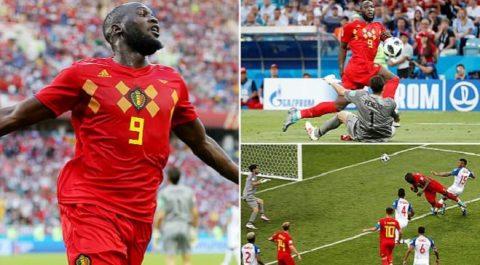 """Chân gỗ MU lập cú đúp thần thánh, ĐT Bỉ san lấp """"kênh đào"""" Panama, thách mọi đối thủ tại World Cup 2018"""