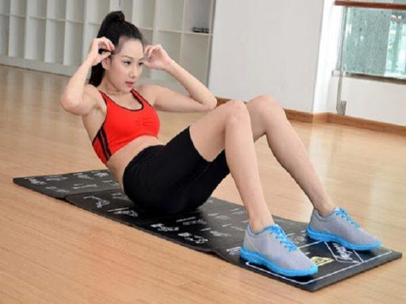 Các bài tập bụng cho nữ giúp giảm mỡ bụng hiệu quả