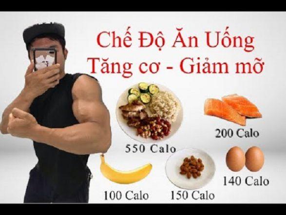 Mách bạn chế độ ăn giảm mỡ tăng cơ cho cơ thể săn chắc