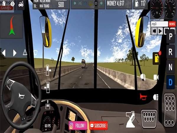 Game lái xe khách trên mobile