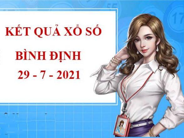 Phân tích xổ số Bình Định thứ 5 ngày 29/7/2021