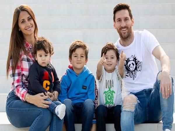 Con trai Messi – 3 cậu quý tử tinh nghịch, đáng yêu